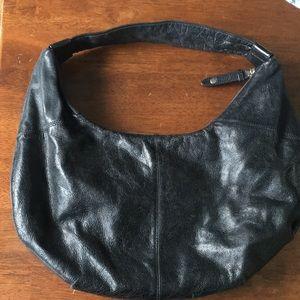 Black Leather Hobo purse